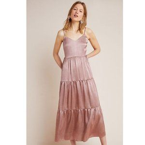 Anthropologie Elodie Tiered Maxi Dress Pin…